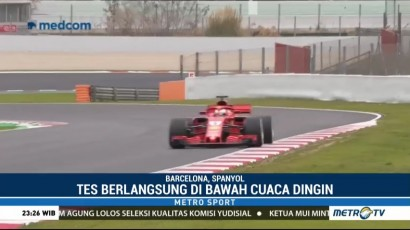 Sebastian Vettel Rajai Hari Kedua Tes Pramusim F1