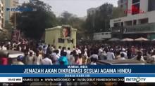 Ribuan Penggemar Hadiri Pemakaman Aktris Sridevi