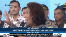 Menteri Susi Temui Nelayan Cantrang di Juwana