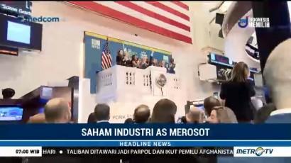 Pasar Saham AS Merosot