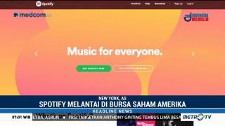 Spotify Melantai di Bursa Saham AS