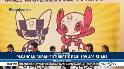 Rubah Futuristik Jadi Maskot Olimpiade & Paralimpiade Tokyo