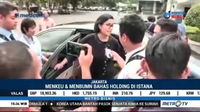 Jokowi Gelar Pertemuan Tertutup Bahas Holding BUMN Migas