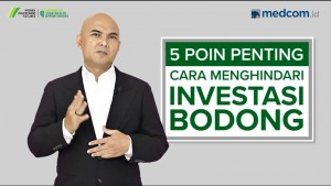 Lima Tips Hindari Investasi Bodong