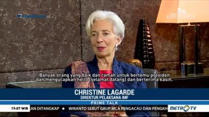 Lagarde Senang Ikut Jokowi Blusukan ke Tanah Abang