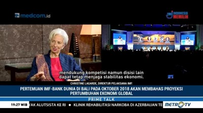 Pertemuan IMF-Bank Dunia di Bali akan Bahas Proyeksi Pertumbuhan Ekonomi Global