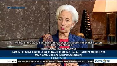 Lagarde Bicara Digital Ekonomi dan Mata Uang Virtual