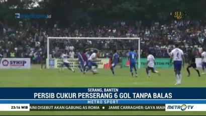 Persib Bandung Cukur Perserang 6-0