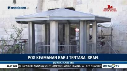 Israel Bangun Pos Keamanan Baru di Yerusalem