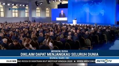 Putin Kenalkan Senjata Nuklir Terbaru Rusia