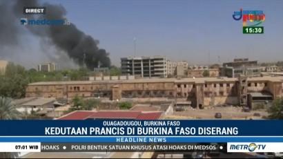 Kedutaan Prancis di Burkina Faso Diserang