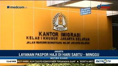 Kantor Imigrasi Jaksel Buka Layanan Paspor Haji di Akhir Pekan