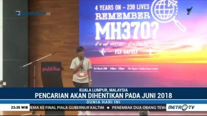 Pencarian MH370 Dihentikan Juni 2018