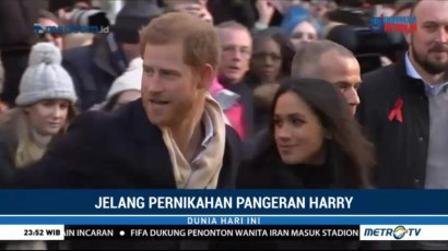 Pangeran Harry Undang 2 Ribu Warga ke Pesta Pernikahannya