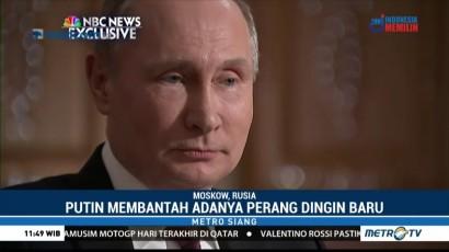 Putin Bantah Adanya Perang Dingin Baru dengan AS