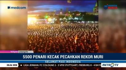 5.555 Penari Kecak Pecahkan Rekor MURI