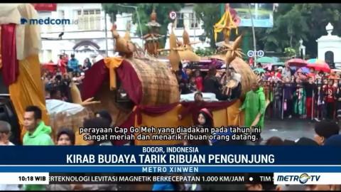 Kirab Budaya Meriahkan Perayaan Cap Go Meh di Bogor