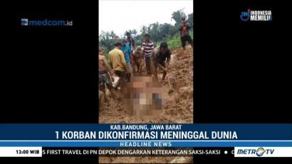 Longsor di Bandung Barat, 1 Tewas dan 1 Lainnya Hilang