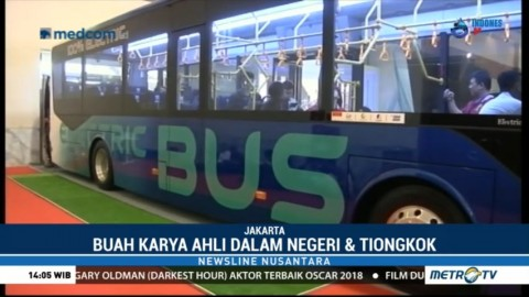 Bus Listrik Karya Ahli Dalam Negeri dan Tiongkok
