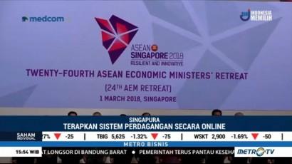 ASEAN Economic Ministers Sepakati Perdagangan Satu Pintu