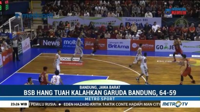 Tekuk Garuda Bandung, BSB Hangtuah Melaju ke Semifinal IBL