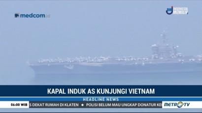 Kapal Induk AS Kunjungi Vietnam