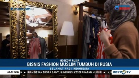 Geliat Bisnis Muslim di Rusia