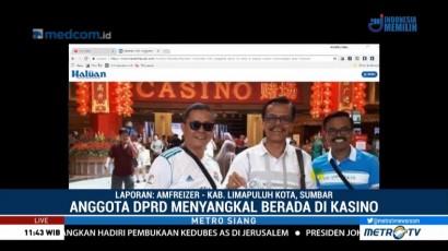 Anggota DPRD Limapuluh Kota Bantah Masuk Kasino di Singapura
