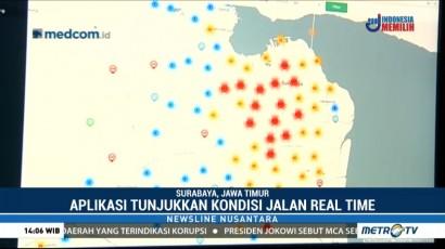 Pantau Lalin Surabaya Melalui Aplikasi Matakota