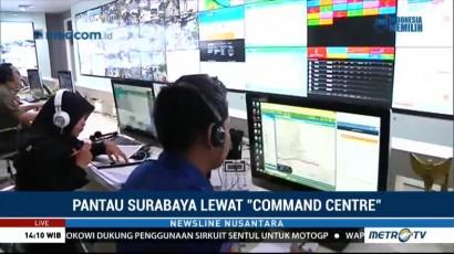 Melihat Kecanggihan Command Centre, Ruang Kendali Milik Pemkot Surabaya