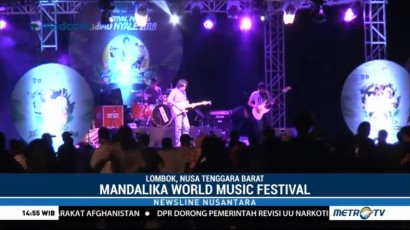 Mandalika World Music Festival Meriahkan Festival Bau Nyale 2018