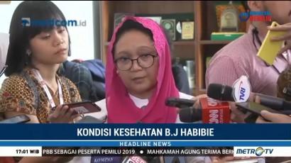 Pantau Kesehatan Habibie, Pemerintah Jalin Komunikasi Intens dengan Keluarga