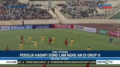 Persija Raih Hasil Imbang di Markas Song Lam Nghe
