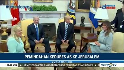 Presiden Trump akan Kunjungi Israel Mei Mendatang