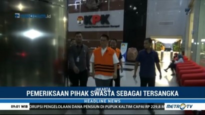 KPK Periksa Penyuap Wali Kota Kendari Selama 9 Jam