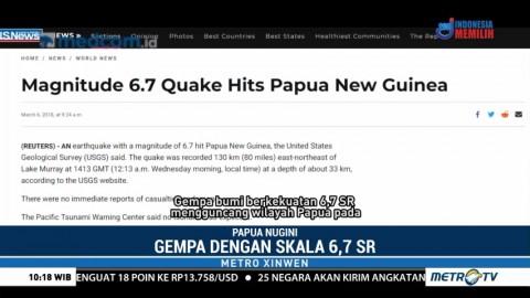 Gempa Bumi Papua Nugini, 30 Orang Tewas dan 300 Lainnya Luka