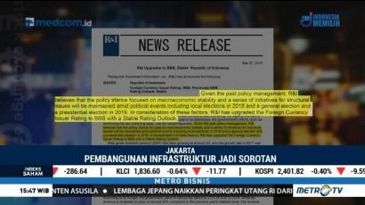 R&I Naikkan Peringkat Utang Indonesia