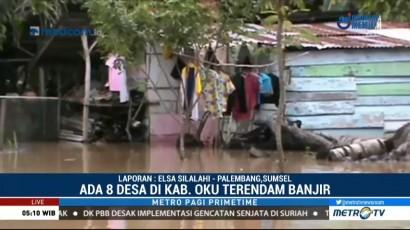 Delapan Desa di Ogan Komering Ulu Terendam Banjir