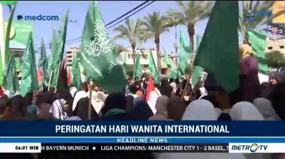 Wanita Gaza Protes Keputusan Trump soal Yerusalem