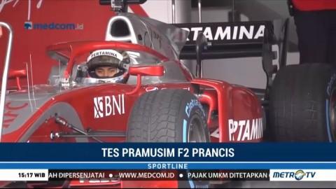 Adaptasi Mobil Baru di Tes Pramusim F2 Prancis