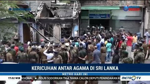 Pemerintah Sri Lanka Tetapkan Status Darurat Kericuhan Antar Agama