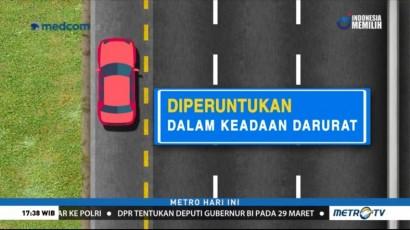 Aturan Penggunaan Bahu Jalan Tol