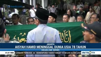 Adik Gus Dur Aisyah Hamid Baidlowi akan Dimakamkan di Ponpes Tebu Ireng