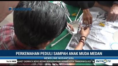 Perkemahan Peduli Sampah Anak Muda Medan