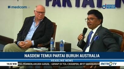 NasDem Terima Kunjungan Partai Buruh Australia