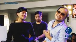 Sandhy Sondoro ft Monita Tahalea - Sampai Usai Waktu Live at Medcom Jagonya Musik