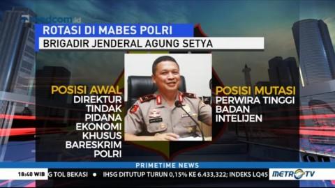 Ini Daftar Perwira Polri yang Dimutasi