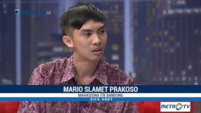 Mario Tak Jadi Putus Sekolah Setelah Nonton Kick Andy