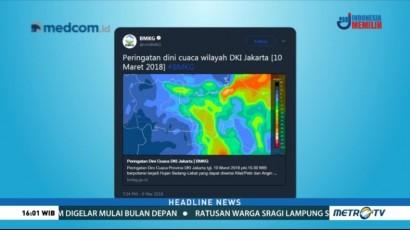 BMKG Keluarkan Peringatan Dini soal Cuaca di Sejumlah Wilayah
