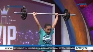 Adelia Prasati, Lifter Cilik Peraih Medali Emas